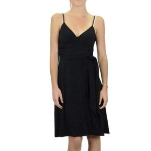 Molly New York Tie Waist Little Black Dress